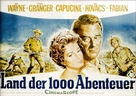 North to Alaska - German Movie Poster (xs thumbnail)