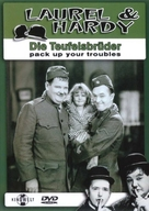 Pack Up Your Troubles - German DVD cover (xs thumbnail)