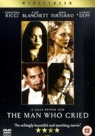 The Man Who Cried - British DVD cover (xs thumbnail)