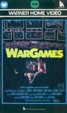 WarGames - Australian VHS movie cover (xs thumbnail)