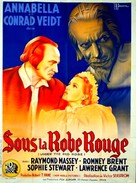 Under the Red Robe - French Movie Poster (xs thumbnail)