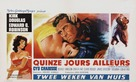 Two Weeks in Another Town - Belgian Movie Poster (xs thumbnail)