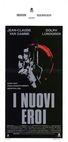 Universal Soldier - Italian Movie Poster (xs thumbnail)