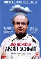 About Schmidt - British DVD movie cover (xs thumbnail)