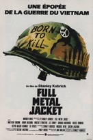 Full Metal Jacket - French Movie Poster (xs thumbnail)