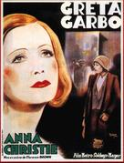 Anna Christie - French Movie Poster (xs thumbnail)
