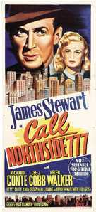 Call Northside 777 - Australian Movie Poster (xs thumbnail)