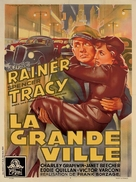 Big City - French Movie Poster (xs thumbnail)