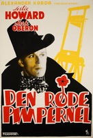 The Scarlet Pimpernel - Norwegian Movie Poster (xs thumbnail)