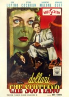 Private Hell 36 - Italian Movie Poster (xs thumbnail)