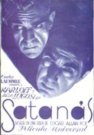 The Black Cat - Spanish Movie Poster (xs thumbnail)