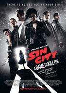 Sin City: A Dame to Kill For - Swedish Movie Poster (xs thumbnail)