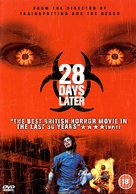 28 Days Later... - British DVD movie cover (xs thumbnail)