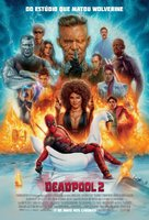 Deadpool 2 - Brazilian Movie Poster (xs thumbnail)