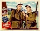 Abbott and Costello in the Foreign Legion - poster (xs thumbnail)