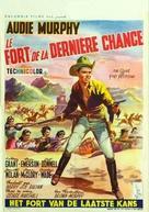 The Guns of Fort Petticoat - Belgian Movie Poster (xs thumbnail)