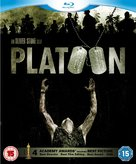 Platoon - British Blu-Ray movie cover (xs thumbnail)
