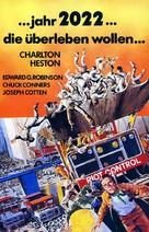 Soylent Green - German VHS movie cover (xs thumbnail)
