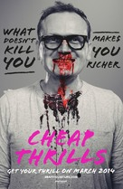 Cheap Thrills - Movie Poster (xs thumbnail)