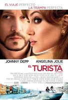 The Tourist - Mexican Movie Poster (xs thumbnail)