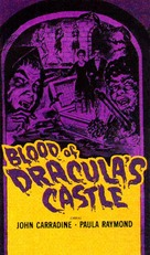 Blood of Dracula's Castle - VHS movie cover (xs thumbnail)