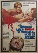 Blood for Dracula - Italian Movie Poster (xs thumbnail)