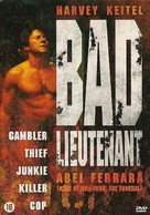 Bad Lieutenant - Dutch DVD movie cover (xs thumbnail)