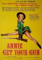 Annie Get Your Gun - German Re-release movie poster (xs thumbnail)