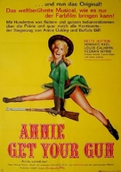 Annie Get Your Gun - German Re-release poster (xs thumbnail)