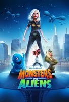 Monsters vs. Aliens - Movie Poster (xs thumbnail)