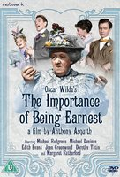 The Importance of Being Earnest - British DVD movie cover (xs thumbnail)