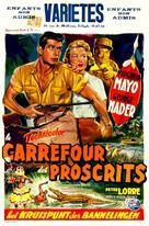 Congo Crossing - Belgian Movie Poster (xs thumbnail)