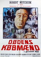 The Amsterdam Kill - Danish Movie Poster (xs thumbnail)