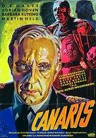 Canaris - German Movie Poster (xs thumbnail)