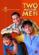 """Two and a Half Men"" - Danish DVD movie cover (xs thumbnail)"
