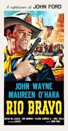 Rio Grande - Italian Theatrical movie poster (xs thumbnail)