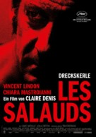Les salauds - German Movie Poster (xs thumbnail)