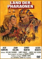 Land of the Pharaohs - German DVD movie cover (xs thumbnail)