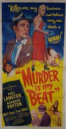 Murder Is My Beat - Movie Poster (xs thumbnail)