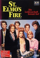 St. Elmo's Fire - German Movie Cover (xs thumbnail)