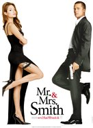 Mr. & Mrs. Smith - Danish Movie Poster (xs thumbnail)
