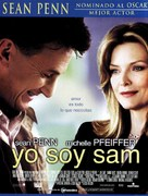 I Am Sam - Spanish Movie Poster (xs thumbnail)