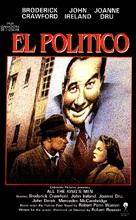 All the King's Men - Spanish Movie Poster (xs thumbnail)