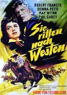 They Rode West - German Movie Poster (xs thumbnail)