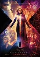 X-Men: Dark Phoenix - Norwegian Movie Poster (xs thumbnail)
