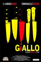 Giallo - Movie Poster (xs thumbnail)