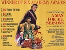 A Man for All Seasons - British Movie Poster (xs thumbnail)