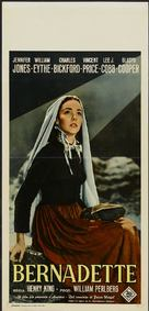 The Song of Bernadette - Italian Movie Poster (xs thumbnail)