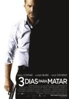 3 Days to Kill - Portuguese Movie Poster (xs thumbnail)