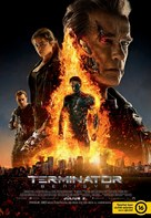 Terminator Genisys - Hungarian Movie Poster (xs thumbnail)